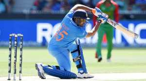 Rohit Sharma plays a shot against Bangladesh in Melbourne. (Source: AP) - See more at: http://indianexpress.com/article/sports/cricket-world-cup/2320403/live-cricket-score-india-vs-bangladesh/#sthash.zpxk25gM.dpuf